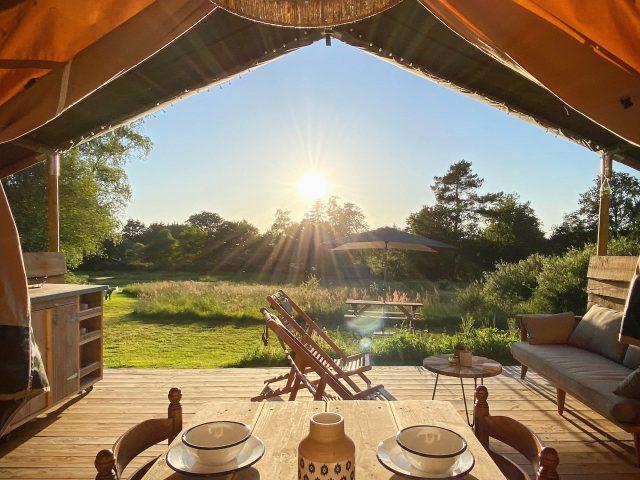 Le Ranch Camping Safari tent View