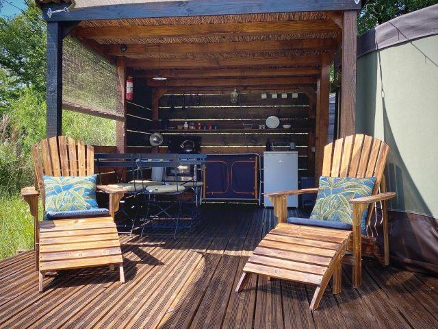 Yurt Terrace