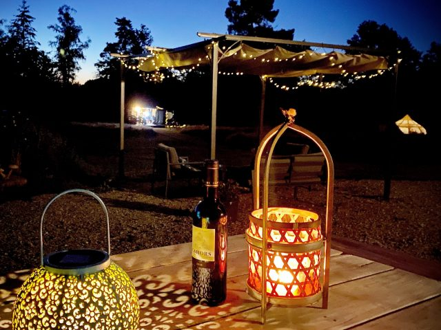 Night Le Ranch Camping